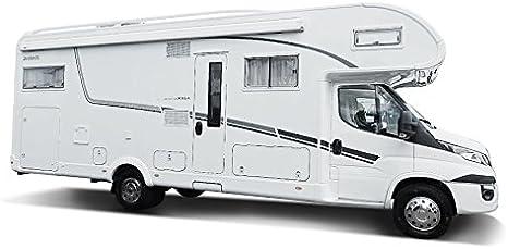 Universale Copricerchi Set 4/pezzi adatto per camper cromato 16/pollici Auto e furgone