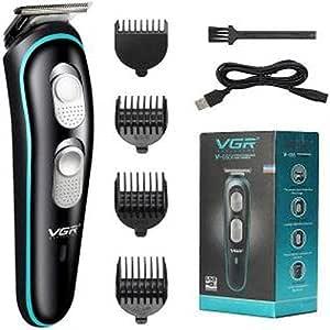 ماكينة تشذيب الشعر VGR V-055 مع شحن USB للرجال - قابلة للغسل