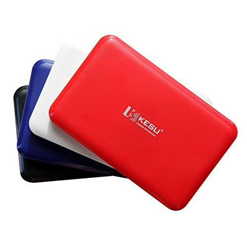 [USB 3.0 & Tool-free ] KESU USB 3.0 HDD SATA External Hard Drive Disk Enclosure Case for 9.5mm 7mm 2.5 Inch SATA HDD and SSD (K-103)