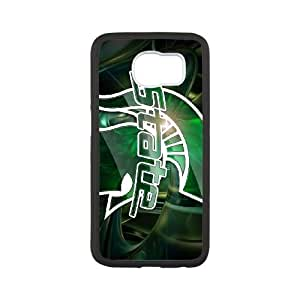 Samsung Galaxy S6 Case White Michigan State Cell Phone Case Cover G3Y6LD