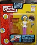 Playmates - The Simpsons - World of Springfield Interactive Figures - Series 12 - LuAnn Van Houton action figure w/custom accessories. by Playmates/The Simpsons
