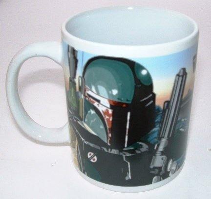 Star Wars Official Ceramic Mug Boba Fett Bounty Hunters for sale  Delivered anywhere in USA