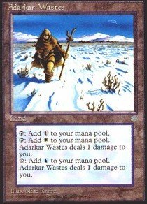 Magic: the Gathering - Adarkar Wastes - Ice Age