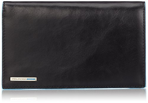 Piquadro Men's Wallet with Credit Card Slots, Black, One Size by Piquadro