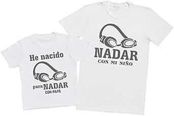 4784c4f71 Zarlivia Clothing Nadar con Papá - Regalo para Padres e Hijos ...