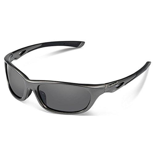 Duduma Polarized Sports Sunglasses for Baseball Running Cycling Fishing Golf Tr646 Durable Frame