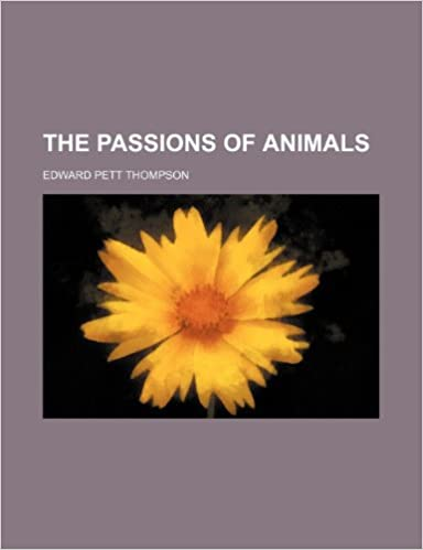 Book The Passions of Animals