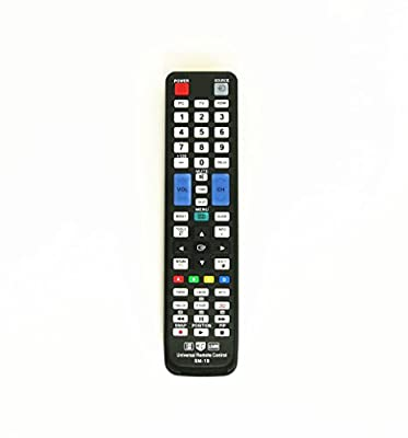 Gvirtue Universal Replacement Remote Control for Samsung TV Smart TV 3D LED HDTV BN59-01178W BN59-00997A BN59-00996A BN59-01199F AA59-00594A BN59-01179A AA59-00594A AA59-00600A AA59-00652A AA59-00666A
