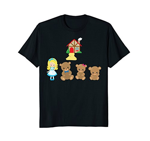Goldilocks and the Three Bears - Shirt or Costume for Girls]()