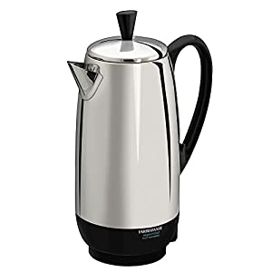 Farberware FCP412 1000 Watt 12-Cup Percolator : Cheaply made pot