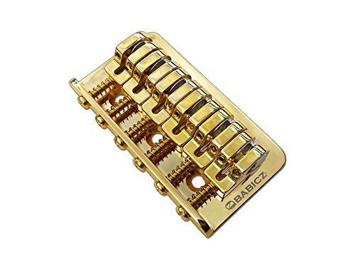 Babicz FCHZ3HTGD Full Contact Hardware Z Series 3 Hole Mount Hardtail Bridge, Gold