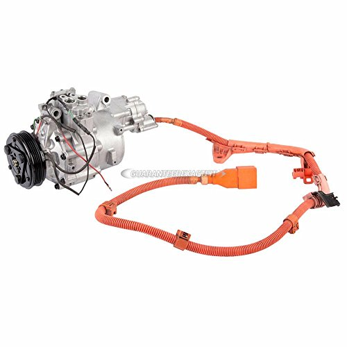 (Reman AC Compressor A/C Clutch For Honda Civic 2006 2007 2008 2009 2010 2011 - BuyAutoParts 60-02141RC Remanufactured)