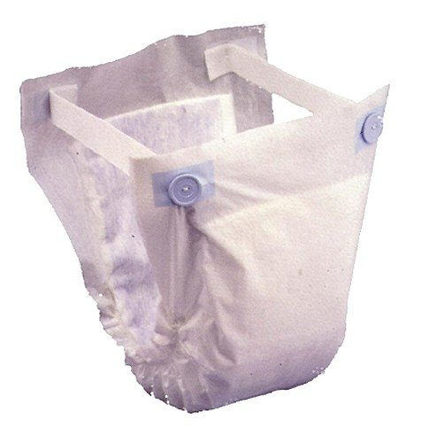 Prevail® Belted Shields-Color White Size One Size Fits All - Case of 120