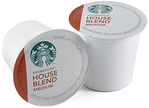 Starbucks House Blend Instrumentality Roast Coffee Keurig K-Cups, 96 Count