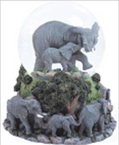 日本最級 Elephants Musical B00B5136VI Snow Globe - Musical Born Elephants Free B00B5136VI, 空知郡:35330a46 --- irlandskayaliteratura.org