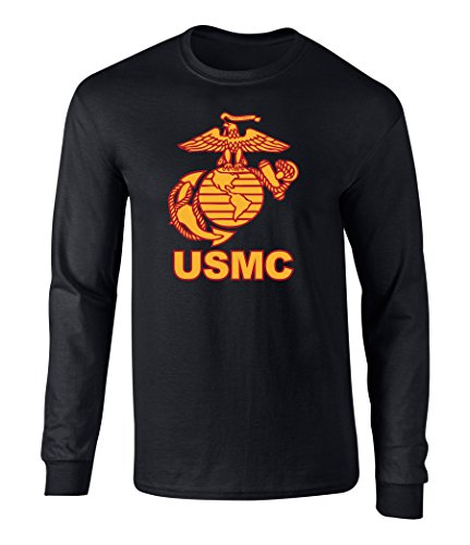 US Marines USMC Eagle Graphic Long Sleeve Officially