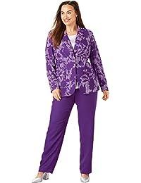 Women S Plus Suits Amazon Com