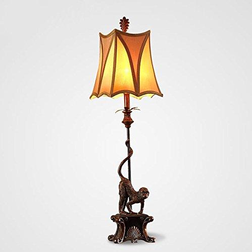 Europäische Bett Lampe Schlafzimmer Nachttischlampe Retro Dimmbare-Schlafzimmer-Lampe