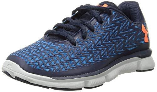 Under Armour Kids Boys Grade School ClutchFit RebelSpeed2 Running Shoe