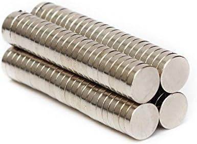100Pcs N50 Super Strong Round Disc Blocks Rare Earth Neodymium Magnets