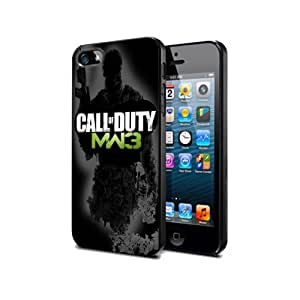 Call of duty Modern Warfare 3 Game NCmw03 Case Cover Protection Samsung Galaxy S5 Black Silicone
