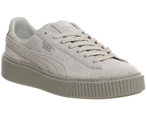 Femme Platform Suede Sneakers Basses Gris Puma UBwRqPP