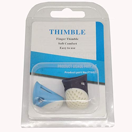 YICBOR Soft Comfort Thimble Two Size for Choose (Two Size/Set) (Two ()