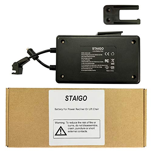 STAIGO Wireless Rechargeable Furniture Power Reclining Furniture and Power Recliner or Lift Chair (Battery+Adapter)