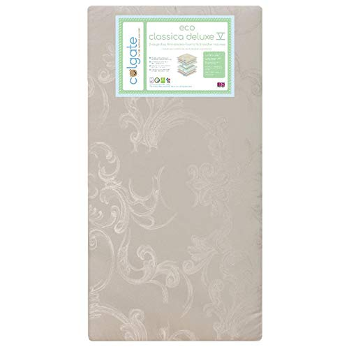 2 Sided Mattress - Colgate Eco Classica Deluxe V 2 Stage Dual Sided Crib and Toddler Mattress