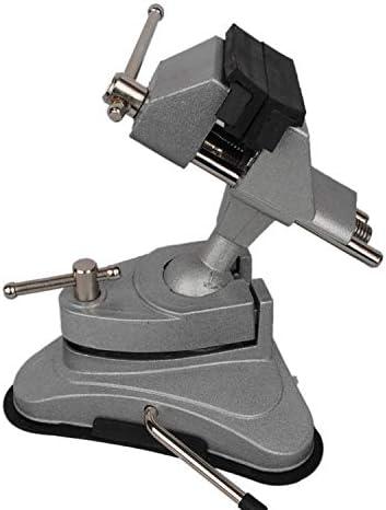 高品質手動制御工作機械アクセサリーアルミ旋回台テーブルベンチ万力バイスクランプツール
