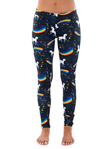 Space Unicorn Leggings Medium