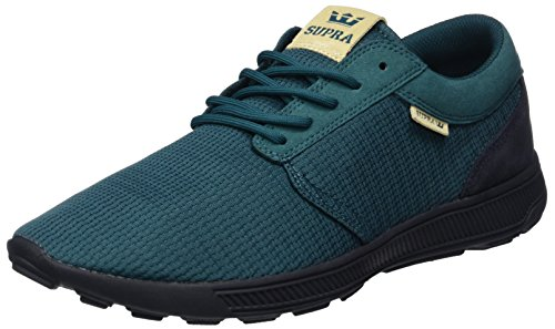 Supra Herren Hammer Run Low-Top Blau (Deep Teal-Black)