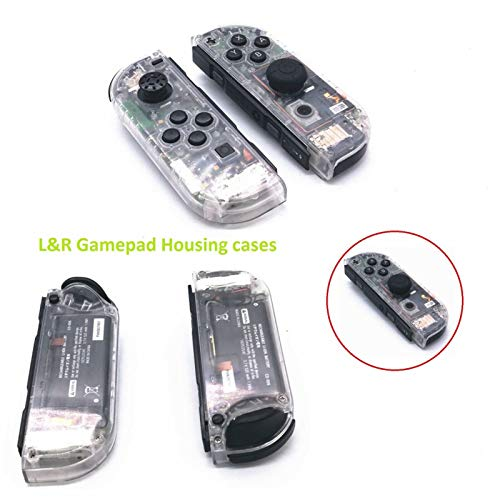 Full Housing Faceplate Handle Shells Case Cover with Battery Middle Frame Shell Plate for Nintendo Switch Controller Joy-Con Faceplate - Housing Frame Faceplate