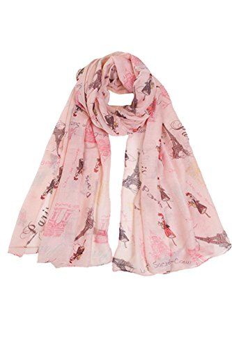 ScarvesMe Womens Printed Eiffel weight product image