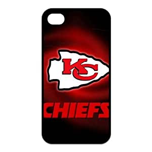 NFL Team Logo Kansas City Chiefs Design TPU Case Protective Skin For Iphone 4 4s iphone4s-NY413