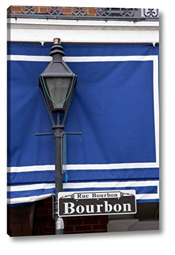 Louisiana, New Orleans Bourbon Street lamppost by Wendy Kaveney - 8
