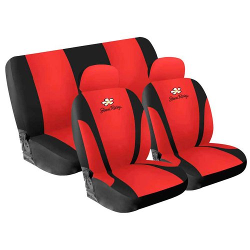 Simoni Racing CSR/DA-R Universal Cover Seats Daisy, Red: