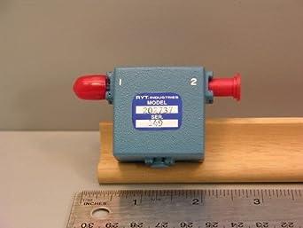 RYT Industries Model 202737 RF Microwave Isolator SMA
