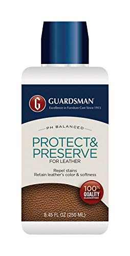 Guardsman Protect & Preserve for Leather 8.4 oz - Repels Stains, Retains Color and Softness, Great for Leather Furniture & Car Interiors - 471000-2 Pack by Guardsman (Image #2)