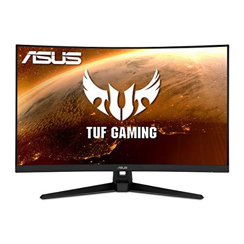 "ASUS TUF Gaming VG32VQ1B 31.5"" Curved Monitor, WQHD (2560 x 1440), 165Hz (Supports 144Hz), 1ms, FreeSync™ Premium/Adaptive-sync, Extreme Low Motion Blur, HDR10, HDMI DisplayPort"
