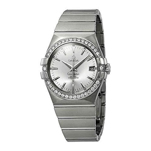 - Omega Constellation Automatic Chronometer Diamond Ladies Watch 123.15.35.20.02.001