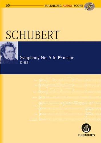 Symphony No.5 Bb major D 485 - study score + CD (