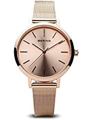 BERING Time 13434-366 Women Classic Collection Watch with Stainless-Steel Strap and scratch resistent sapphire...