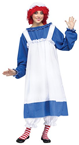 Fun World Costumes Women's Raggedy Ann Adult