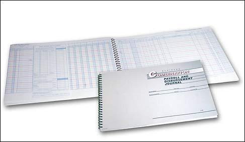 - EGP 26 Column Combination Payroll and Disbursement Journal, 19 7/8