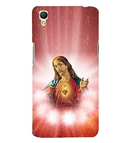 For Oppo A37 jesus, red wallpaper, white star, god: Amazon
