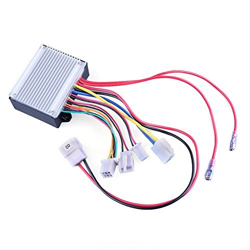 24V Control Module for Razor Ground Force Go Kart(V13+),Razor Ground Force Drifter(V3+),Razor Dune Buggy(V12+),Razor Crazy Cart(Versions1-4),Part Number: W25143400015,Model: HB2430-TYD6K-FS-ROHS