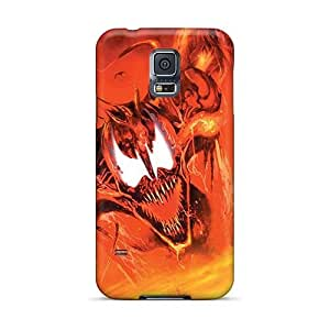 Samsung Galaxy S5 Wmi17711PtgT Unique Design Attractive Maximum Carnage Series Great Cell-phone Hard Covers -IanJoeyPatricia