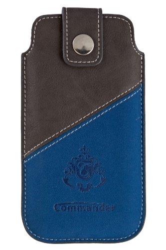 Commander 13085 2Tone Case No.2 für Apple iPhone 5/5C/5S Größe XLS grau/blau