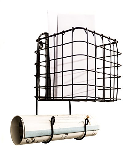 Hanging Wire Basket Caddy Rack